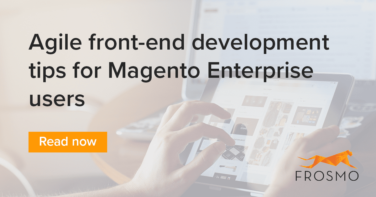 speed magento development