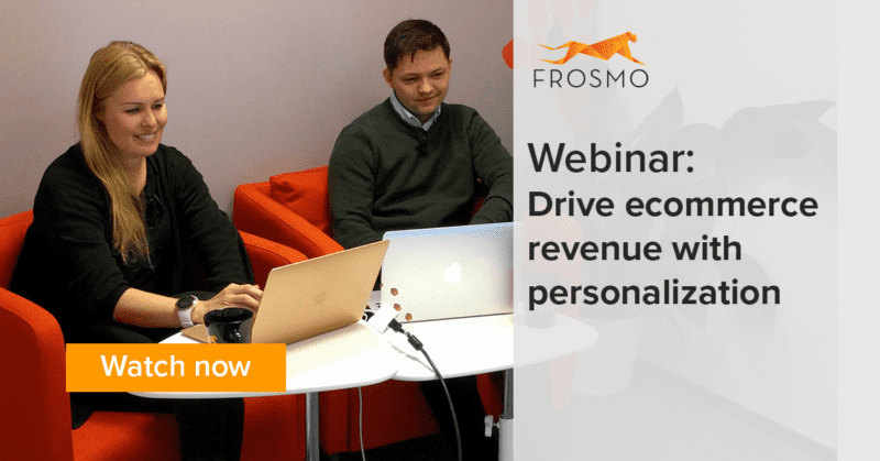 Drive ecommerce revenue with personalization