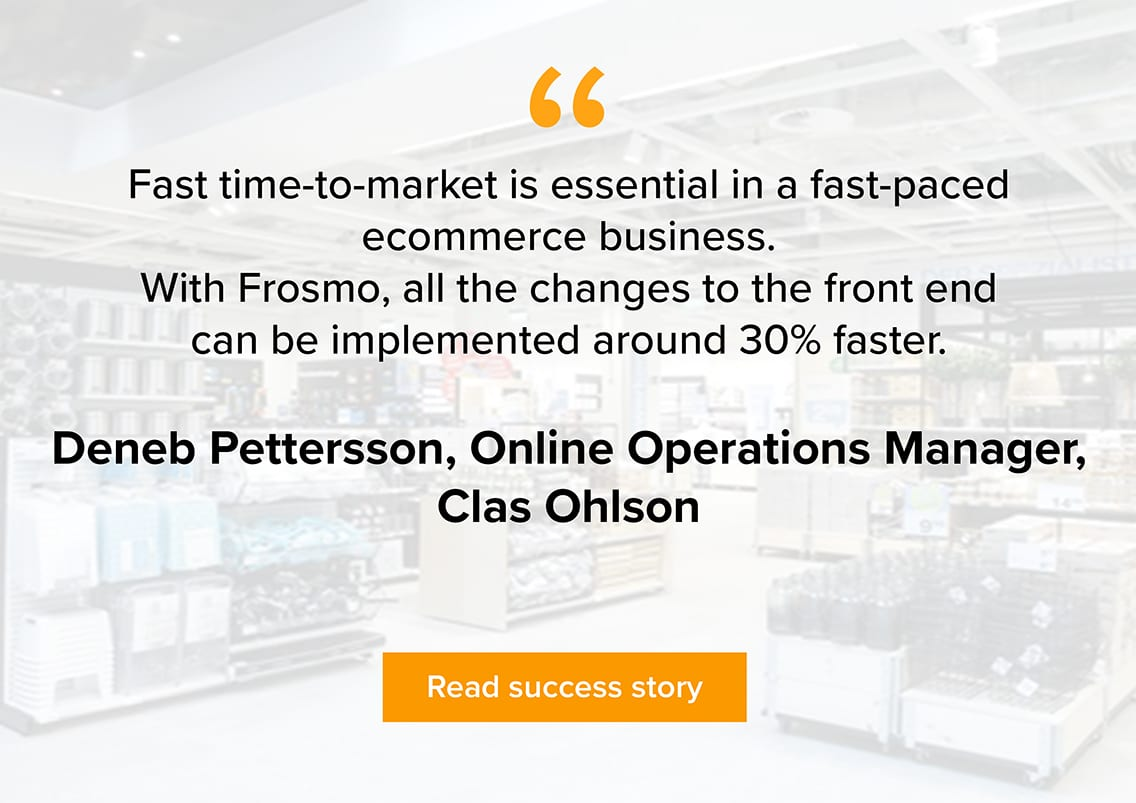 Clas Ohlson customer quote