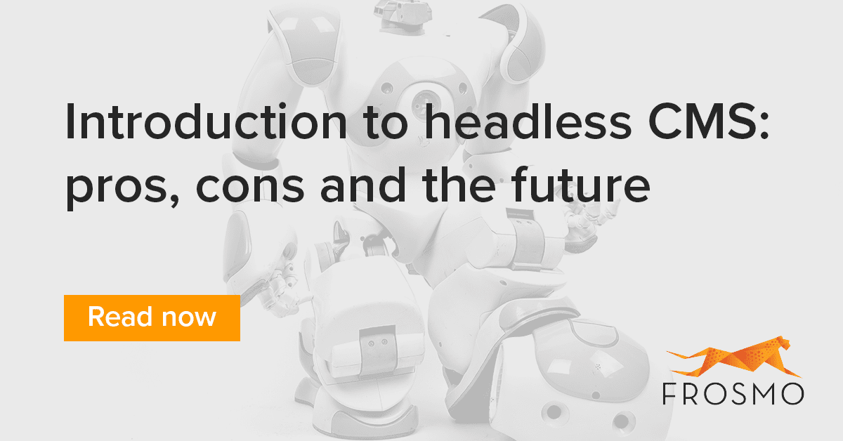 Headless CMS: pros, cons and the future