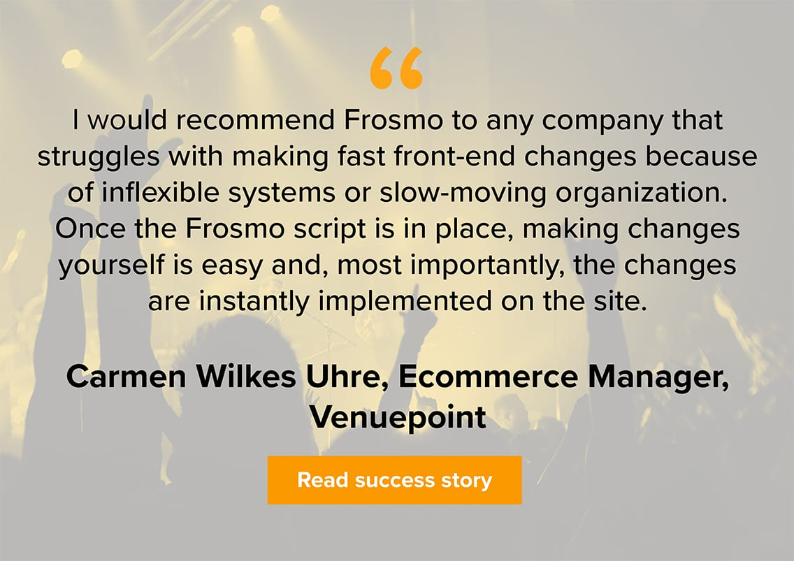 Venuepoint customer quote
