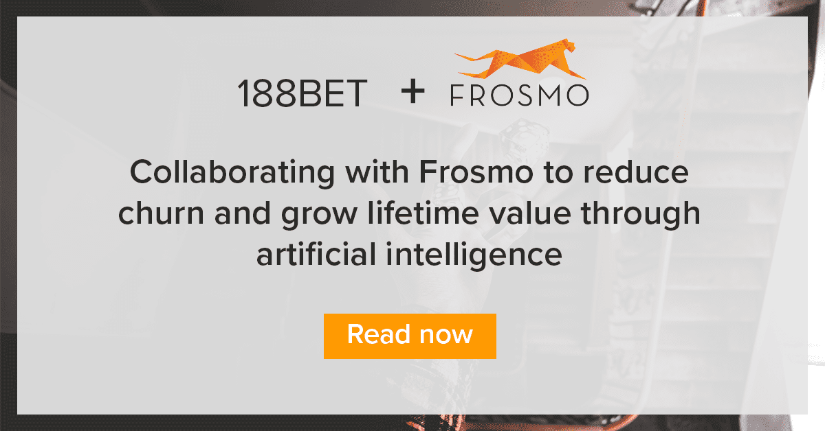 Frosmo helps reduce churn and grows lifetime value through AI