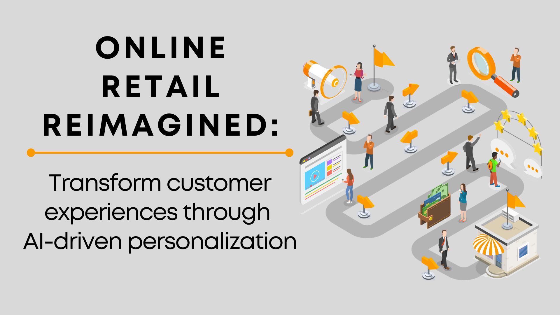 Online retail website personalization