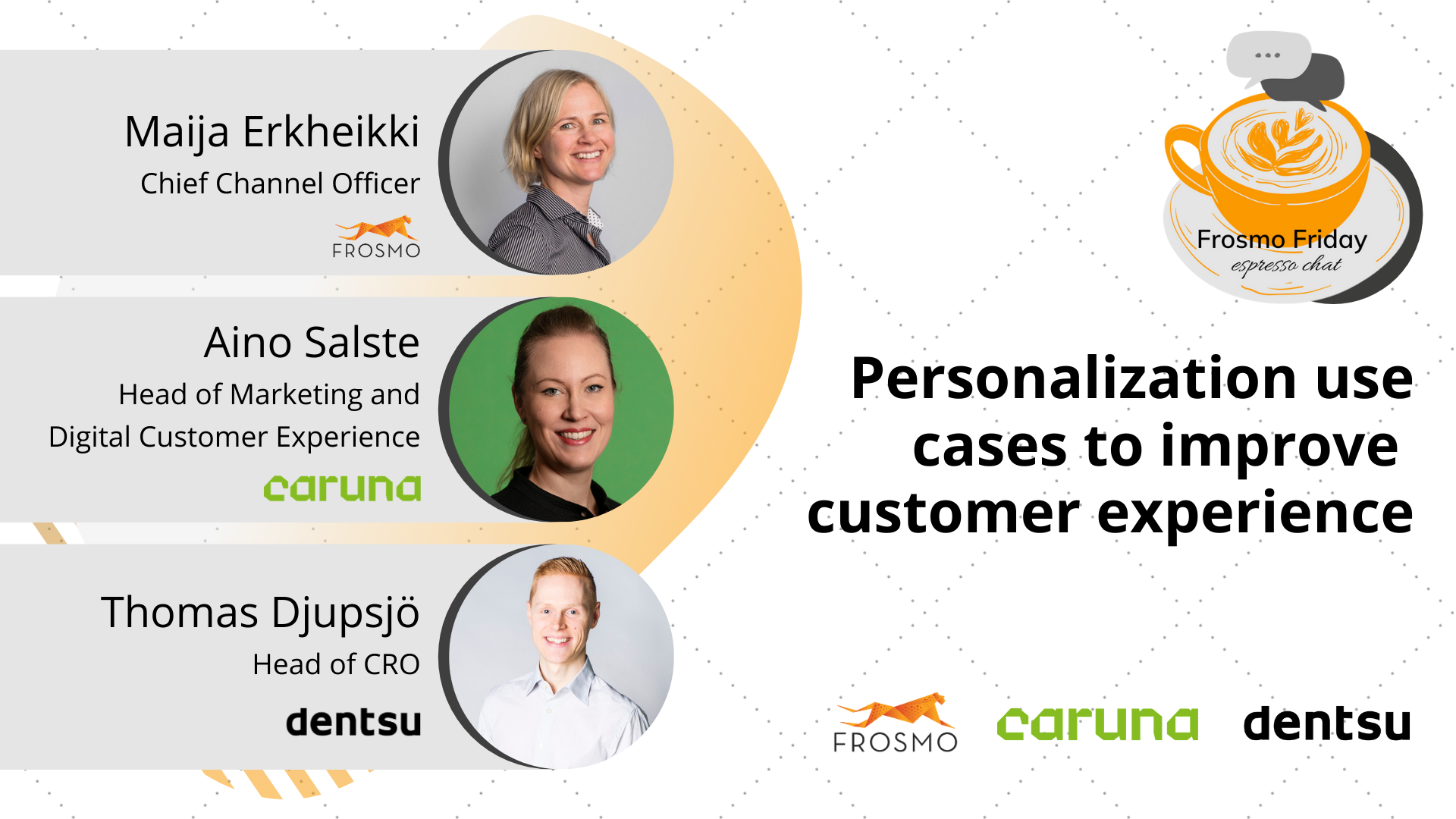Personalization use cases to improve customer experience