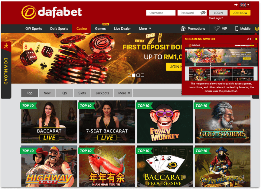 Dafabet Connect receives 65.6% of their downloads through Frosmo modifications