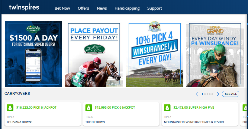 TwinSpires relies on Frosmo to increase conversions and acquisitions