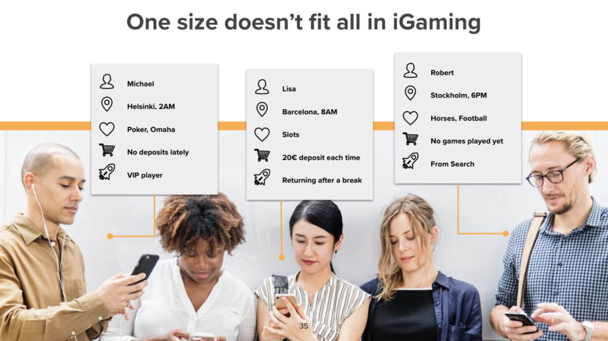 One size doesn't fit all in iGaming