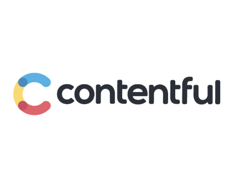 Contentful logo in a box