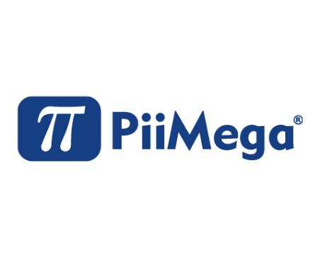 Piimega logo in a box