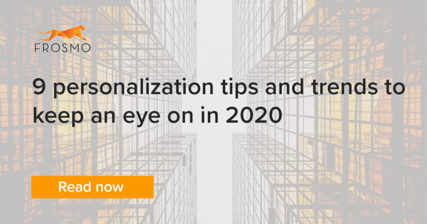 personalization tips and trends 2020