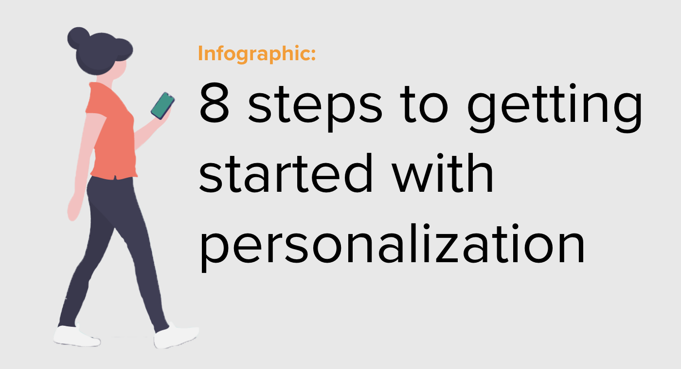 Infographic steps to personalization