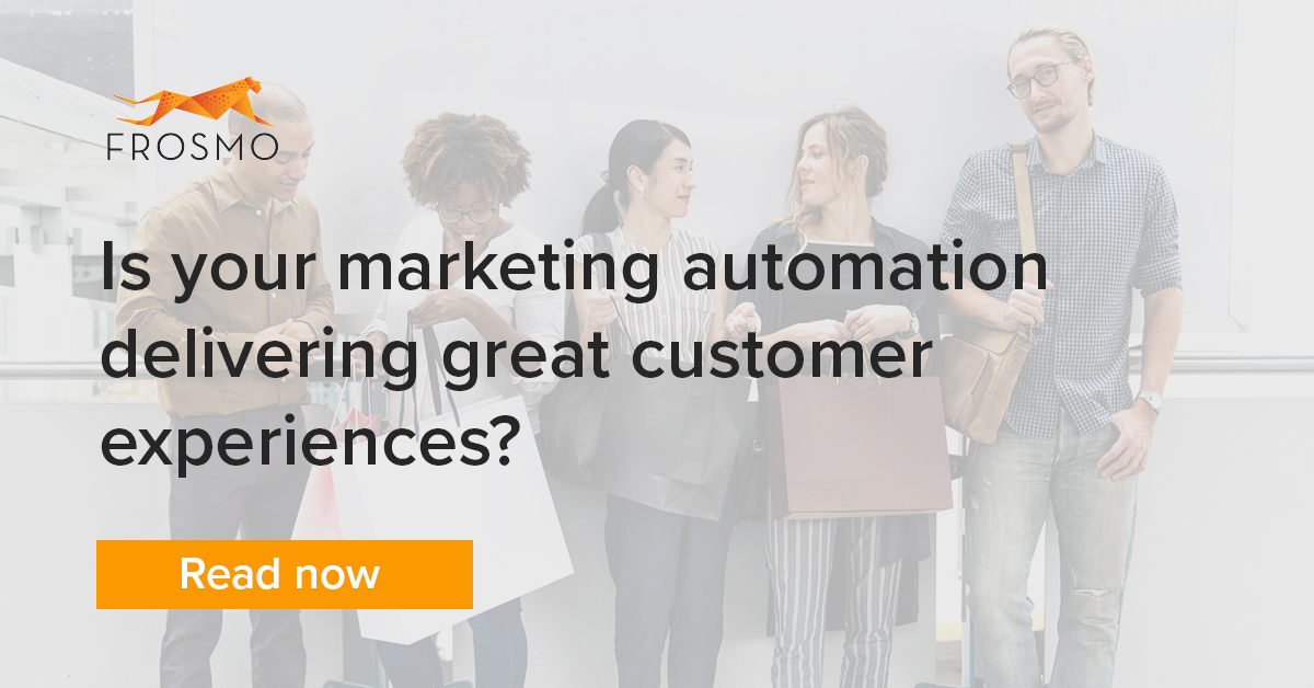 marketing automation delivers great customer experiences