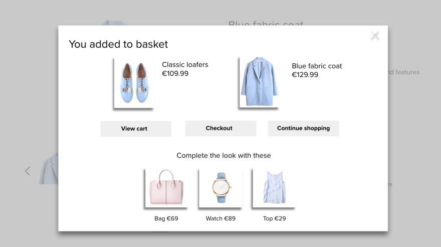 Increasing customer lifetime value with personalized overlays