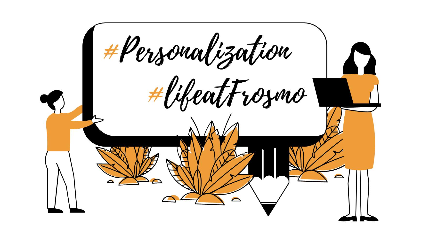 Personalization blog