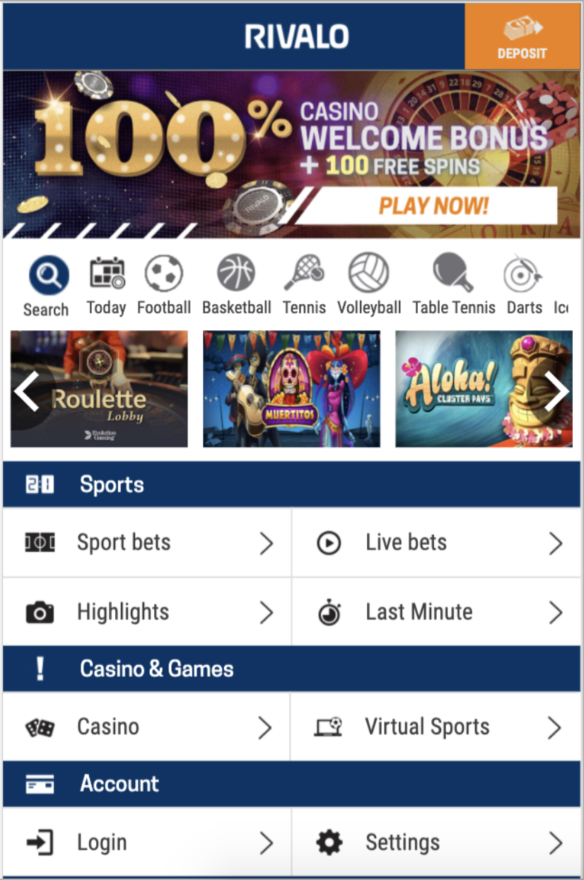 dynamic and personalized promotional banners in the casino lobby