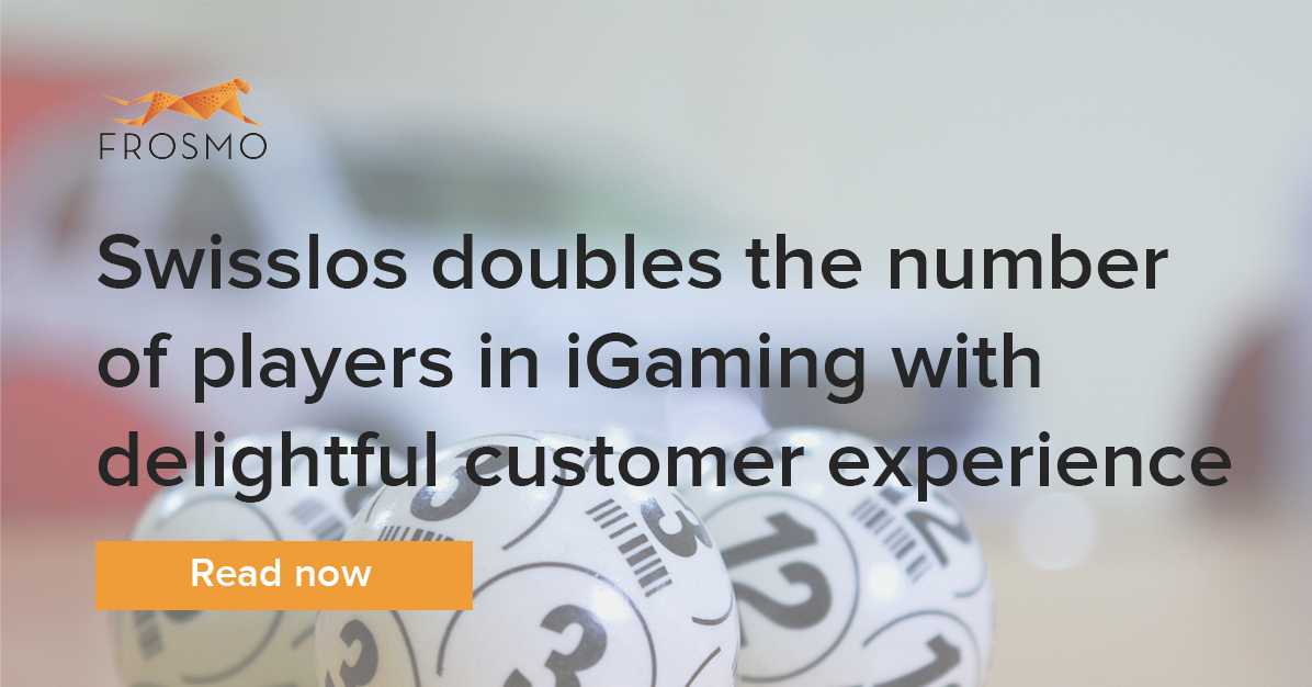Swisslos doubles the number of players in iGaming with delightful customer experience