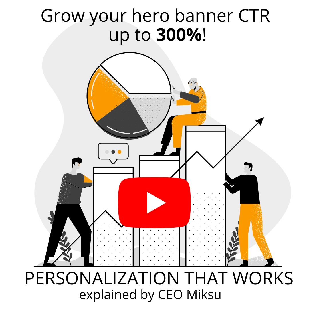 Grow your hero banner CTR up to 300%
