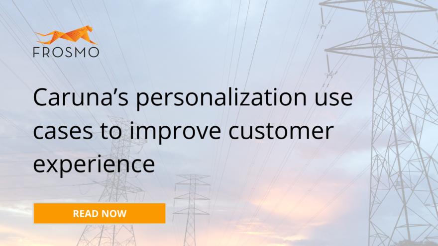 Caruna's personalization use cases to improve customer experience